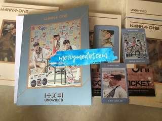 Undivided Wanna One Triple Position Album