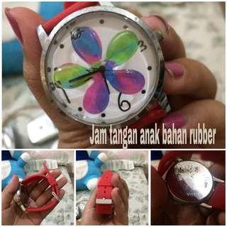 Jam tangan anak rubber