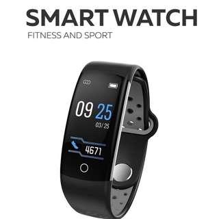 智能手環- WHATSAPP Line FB Wechat 信息顯示/來電顯示/拒接來電/遙控影相/血壓,心率監測/卡路里計算 /計步器/睡眠監測 Bluetooth smart watch Pedometer 防水IP68
