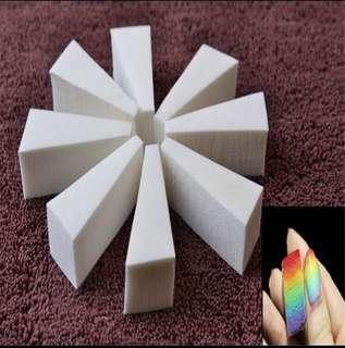 🚚 4 pcs Nail Art Transfer Sponging Gradient Ombré