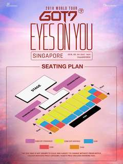 GOT7 EYES ON YOU SINGAPORE giveaway?