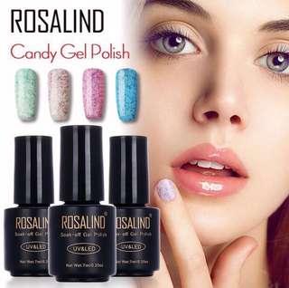 🚚 Candy Series Nail Gel UV LED 7ml/10ml