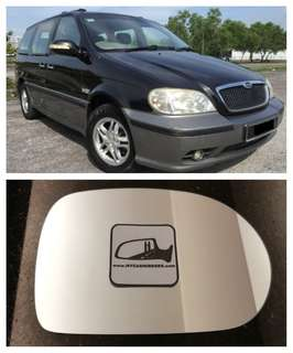 Naza Ria Kia Carnival side mirror all models and series