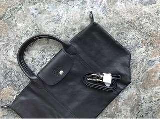 LONGCHAMP 羊皮袋(medium)