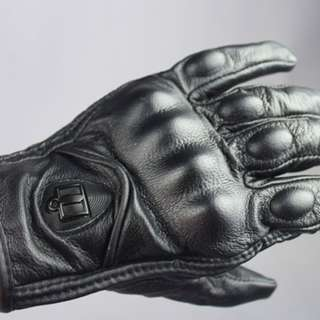 Genuine Leather Motorcycle Glove