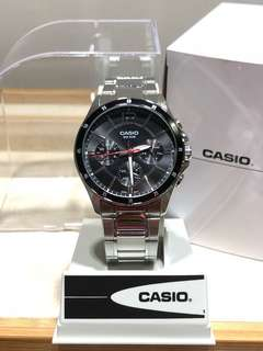 Casio 男裝鋼錶