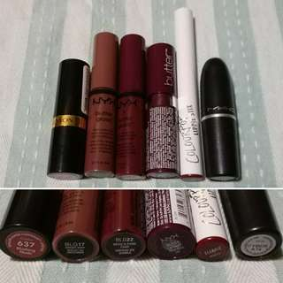 All lippies 1000php!