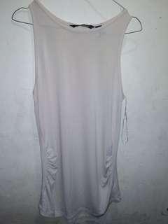 mango suit white dress