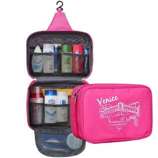 Venice Travel Bag with Hanger for Toiletries