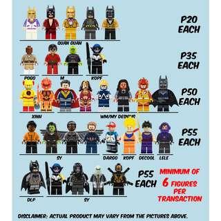 Lego-Like Marvel DC Star Wars Dragon Ball Godzilla