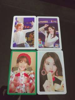 [WTT]TWICE MERRY & HAPPY PHOTOCARDS