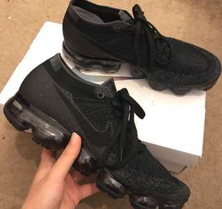 Men's triple black vapormax ultra