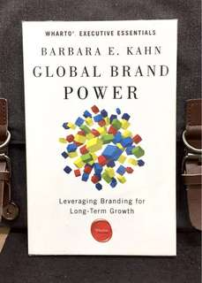 《Preloved Paperback + The Wharton Business School Executive Essentials Series 》Barbara E. Khan - GLOBAL BRAND POWER : Leveraging Branding for Long-Term Growth