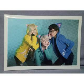 Peggyshrooms Yuri!!! on Ice cosplay print