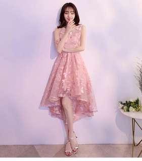 Dinner Dress (L size) - Pink
