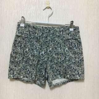 全新花紋短褲