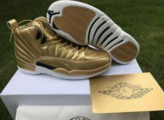 Air Retro Jordan 12 pinnacle gold