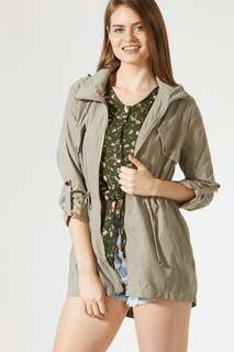 Army Green Jacket - TEMT
