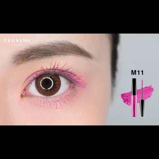 🚚 tsuvimi粉色睫毛膏
