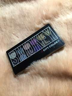 City Color Smokey Eye Pallete