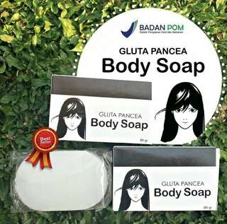 Gluta panacea body soap