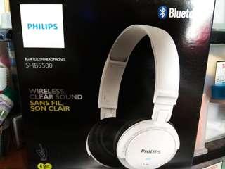 BNIB Philips Wireless Headphones SHB5500