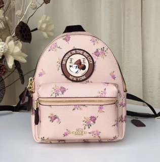Original Coach X mickey backpack crossbody bag handbag