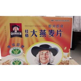 桂格大燕麥片禮盒