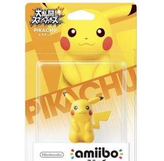 Pikachu Nintendo Amiibo