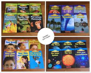 Scholastic Science Vocabulary Readers - 24 books