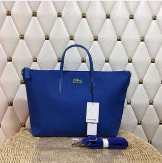 Lacoste Authentic Quality 2-Way Tote Bag