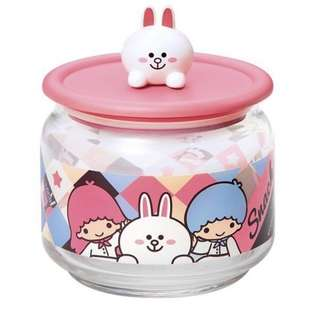 SANRIO 7-11 collectible: cony glassjar