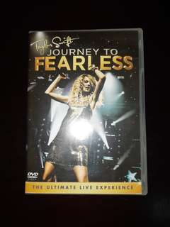TAYLOR SWIFT JOURNEY TO FEARLESS DVD