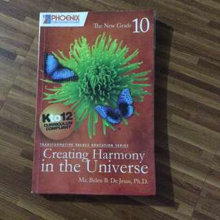 Gr 10 Creating Harmony In The Universe
