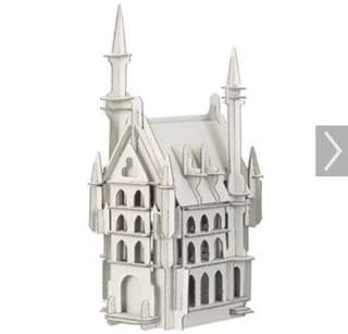 Muji DIY 西洋之城 再生紙模型