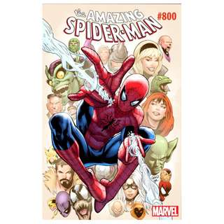 The Amazing Spider-Man #800 Greg Land Variant