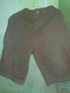celana pendek sedengkul fit to xl