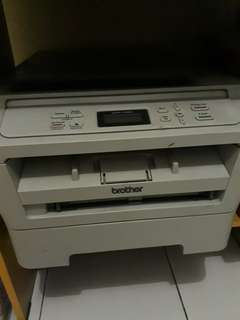 PRINTER DAN SCANNER BROTHER DCP 7055