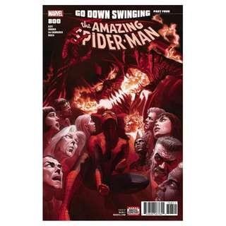 The Amazing Spider-Man #800 Alex Ross Variant
