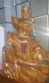老香樟木雕刻品
