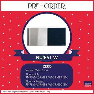(PRE-ORDER) NU'EST W - WHO YOU