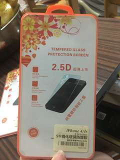 iPhone 4/4s Glass Screen Protector 玻璃mon貼