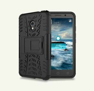 Heavy Duty Shockproof with Stand Case Cover: For Alcatel Pixi 4 4G 5045X