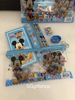 Mickey Mouse stationery packages- children birthday goodies favors, goodie bag gift