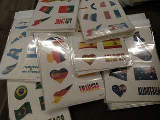 Flag Tattoo Stickers