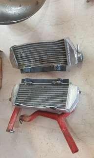 Ktm 200 oversize radiators