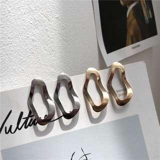 🚚 幾何耳環