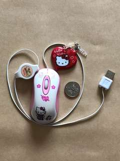 Hello kitty mouse