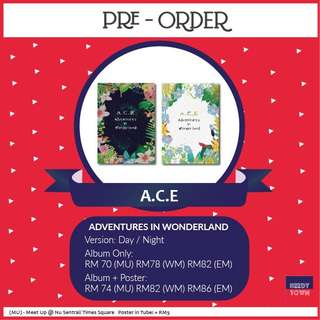 (PRE-ORDER) ACE - ADVENTURES IN WONDERLAND