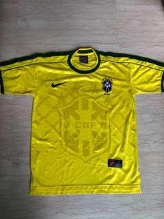 Brazil Jersey almost new. With special imprint XL